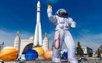 """Центр """"Космонавтика и авиация"""", расположенный в павильоне №34 """"Космос"""" на ВДНХ"""